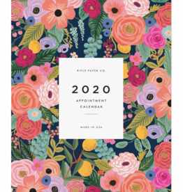 Rifle Paper 2020 Garden Blooms Appointment Calendar