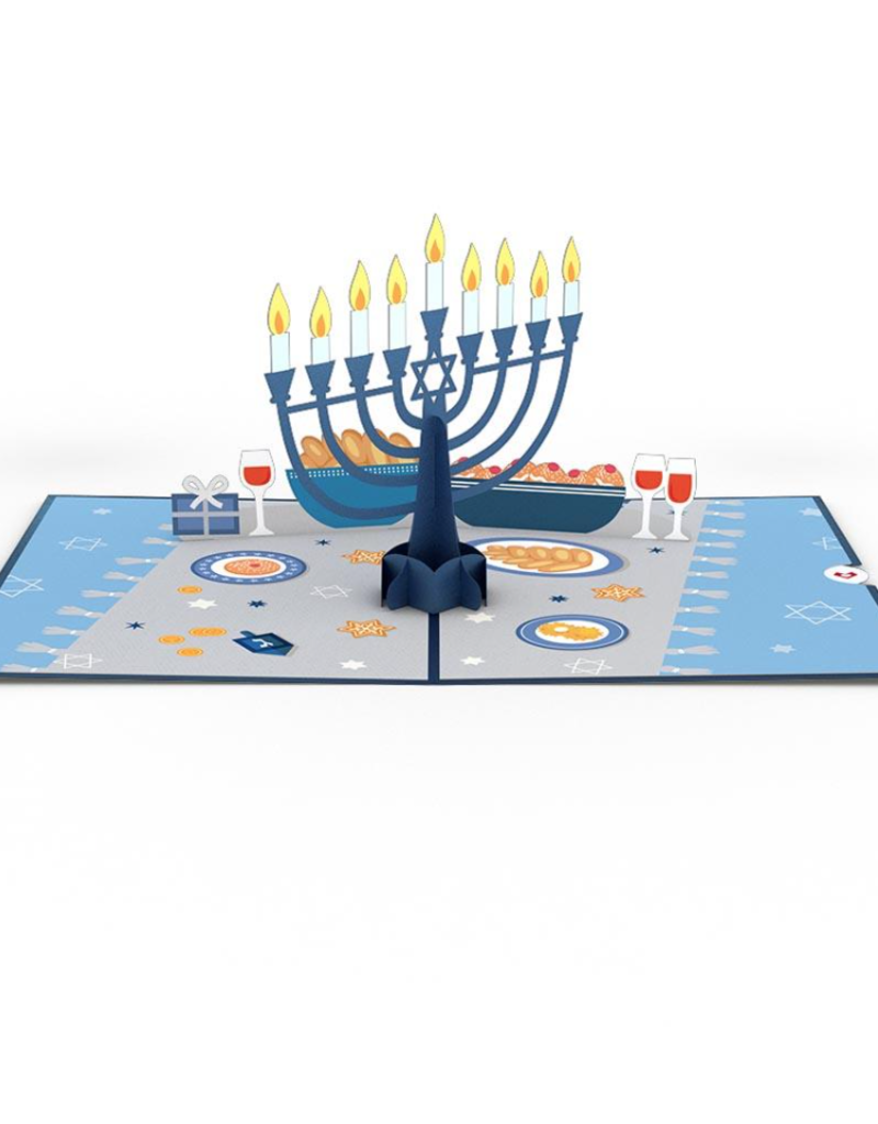Lovepop Menorah Lights 3D Card