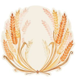 Die-Cut Golden Harvest Placemat - 12 Sheets