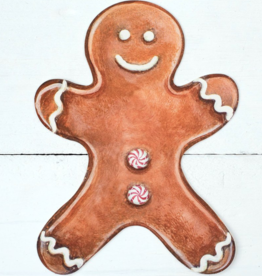 Gingerbread Man Table Accent - Pack of 12