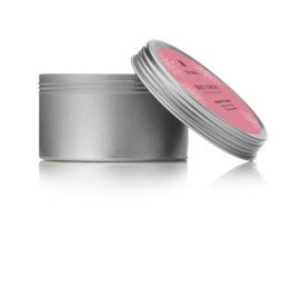 Thymes Hot Cocoa Raspberry Tin Candle