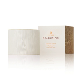 Thymes Frasier Fir Ceramic Petite Candle - 6 oz
