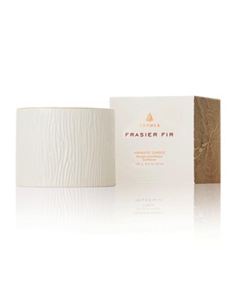 Thymes Frasier Fir Ceramic Petite Candle - 6 oz