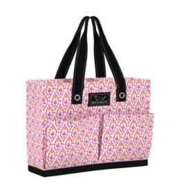 Scout by Bungalow Uptown Girl Pocket Tote Bag- Feeling Fleurty