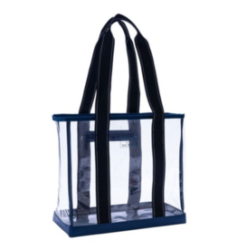 Scout by Bungalow Clear Mini Deano Tote Bag - Navy