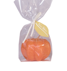 "Vance Kitira Scented Pumpkin Voltive Candle - 2.5""x1.75"" - Pumpkin Orange"