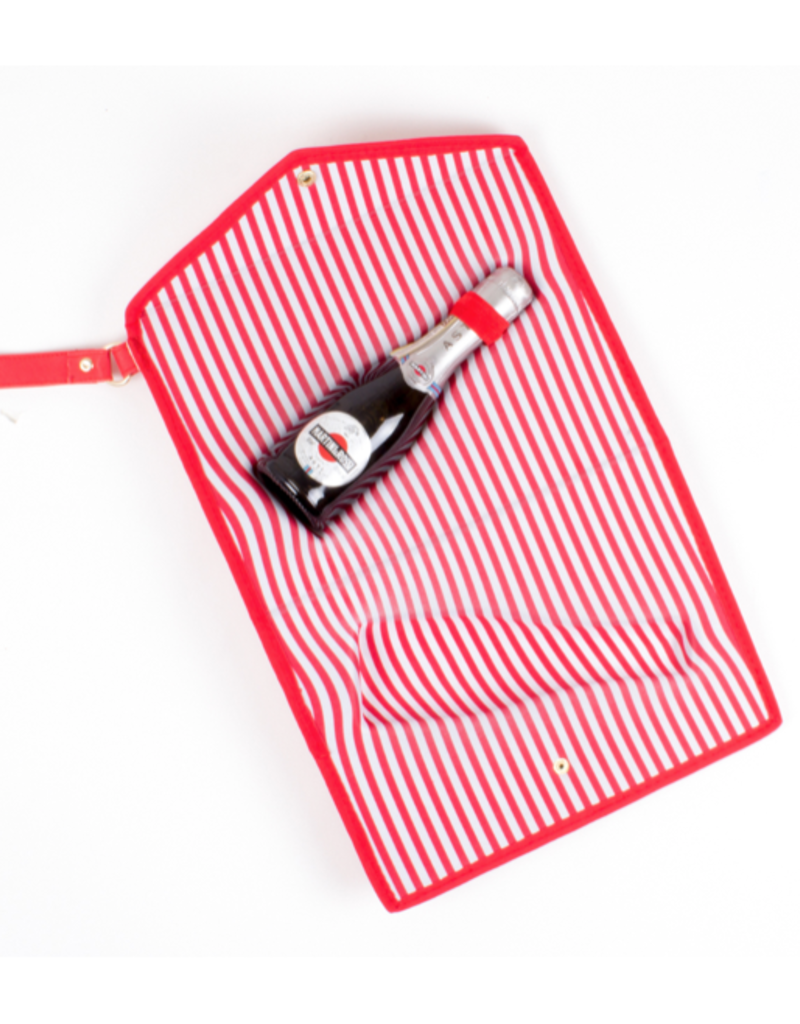 Red 3D Champagne Pouch - Small