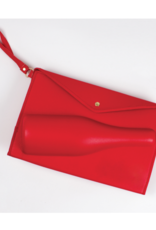 Red 3D Champagne Pouch - Large