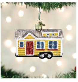 Old World Christmas Tiny House Ornament