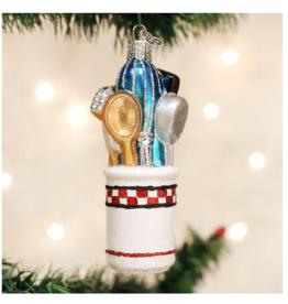 Old World Christmas Kitchen Utensils Ornament
