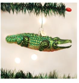 Old World Christmas Alligator Ornament