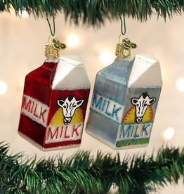 Old World Christmas Milk Carton Ornament