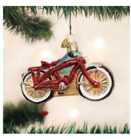 Old World Christmas Cruiser Bike Ornament