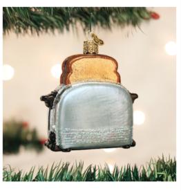 Old World Christmas Retro Toaster Ornament