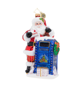 Christopher Radko Dear Santa! Christmas Ornament