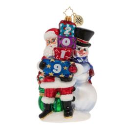 Christopher Radko 2019 Winter Friends Christmas Ornament