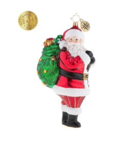 Christopher Radko The Ole' Holiday Heave-Ho Ornament