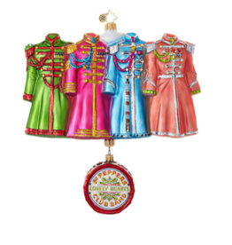 Christopher Radko Sgt. Pepper's Coats Ornament