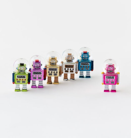 Robot Water Globe Ornament - Assorted
