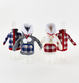 Winter Sweater Wine Bottle Cover - Assorted