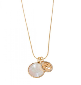 Spartina 449 Mermaid Disk Necklace - 17""