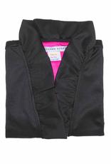 Gretchen Scott Jersey Sleeveless Ruffneck Top Black - Small
