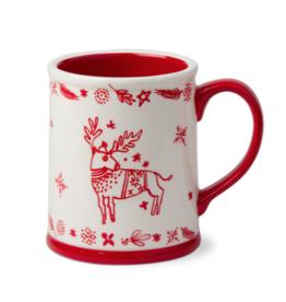Making Spirits Bright Deer Mug