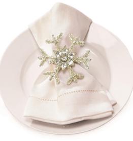 Snowflake Napkin Ring - Set of 2
