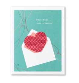 It's you I like... Valentine's Day Card