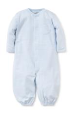 Light Blue Stripes Conv. Gown