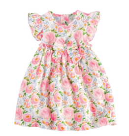 Swirl Floral Rosebud Toddler Dress - 2T