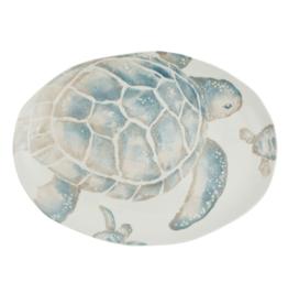 Vietri Tartaruga Turtle Medium Oval Platter