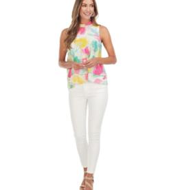 Eleanor Top Painterly Pastel - Medium
