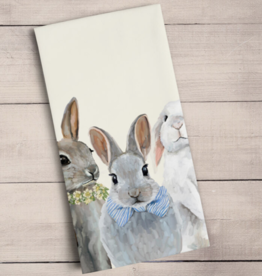 Bunny Bunch Tea Towel