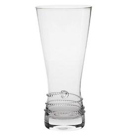 """Juliska Amalia Pilsner Glass - Clear - DISCONTINUED 7.5""""H - 18oz."""