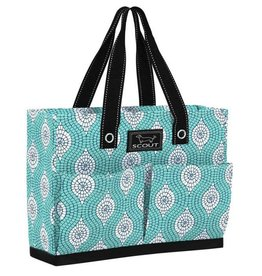 Scout by Bungalow Uptown Girl Pocket Tote Bag- Mosaic Aint So