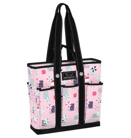 Scout by Bungalow Pocket Rocket Tote Bag - Namastay at the Beach