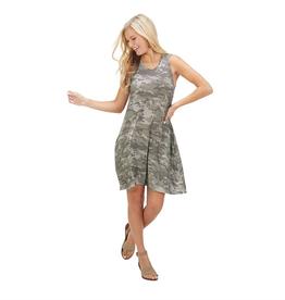 Gray Camo Maya Swing Dress - Large