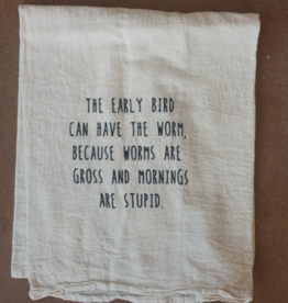 Early Bird Tea Towel