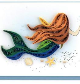 Mermaid Mini Quilling Gift Enclosure
