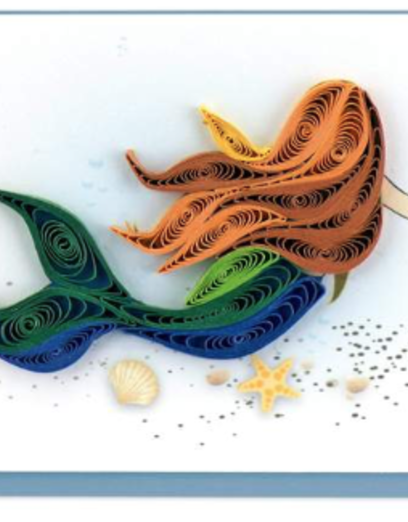 Mermaid Mini Quilling Gift Enclosure