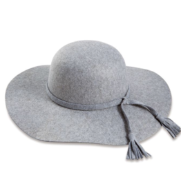 Montana Felted Hat - Gray