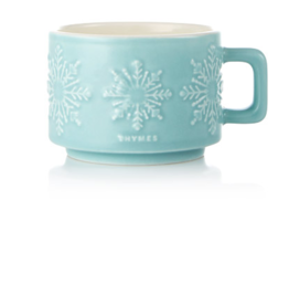 Thymes Hot Cocoa Peppermint Mug Candle - Small