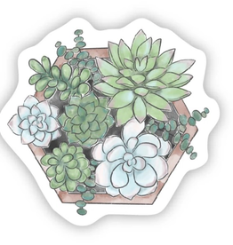 Succulents in a Box Sticker