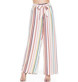 Multi Colored Striped Pants - Medium