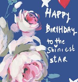 Calaisio Shiniest Star Birthday Card