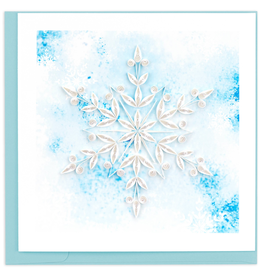 Snowflake Quilling Card