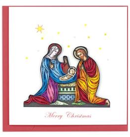 Nativity Scene Quilling Card