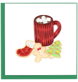 Christmas Cookies Quilling Card