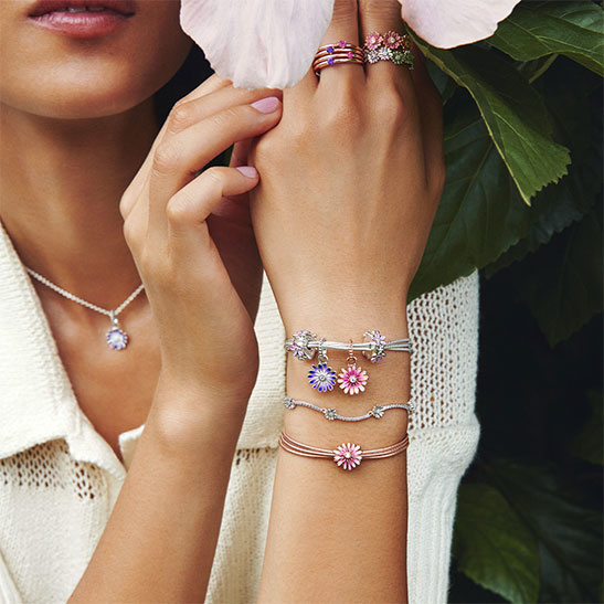 Pandora In Agapanthus Ocala Charms Rings Jewelry Agapanthus